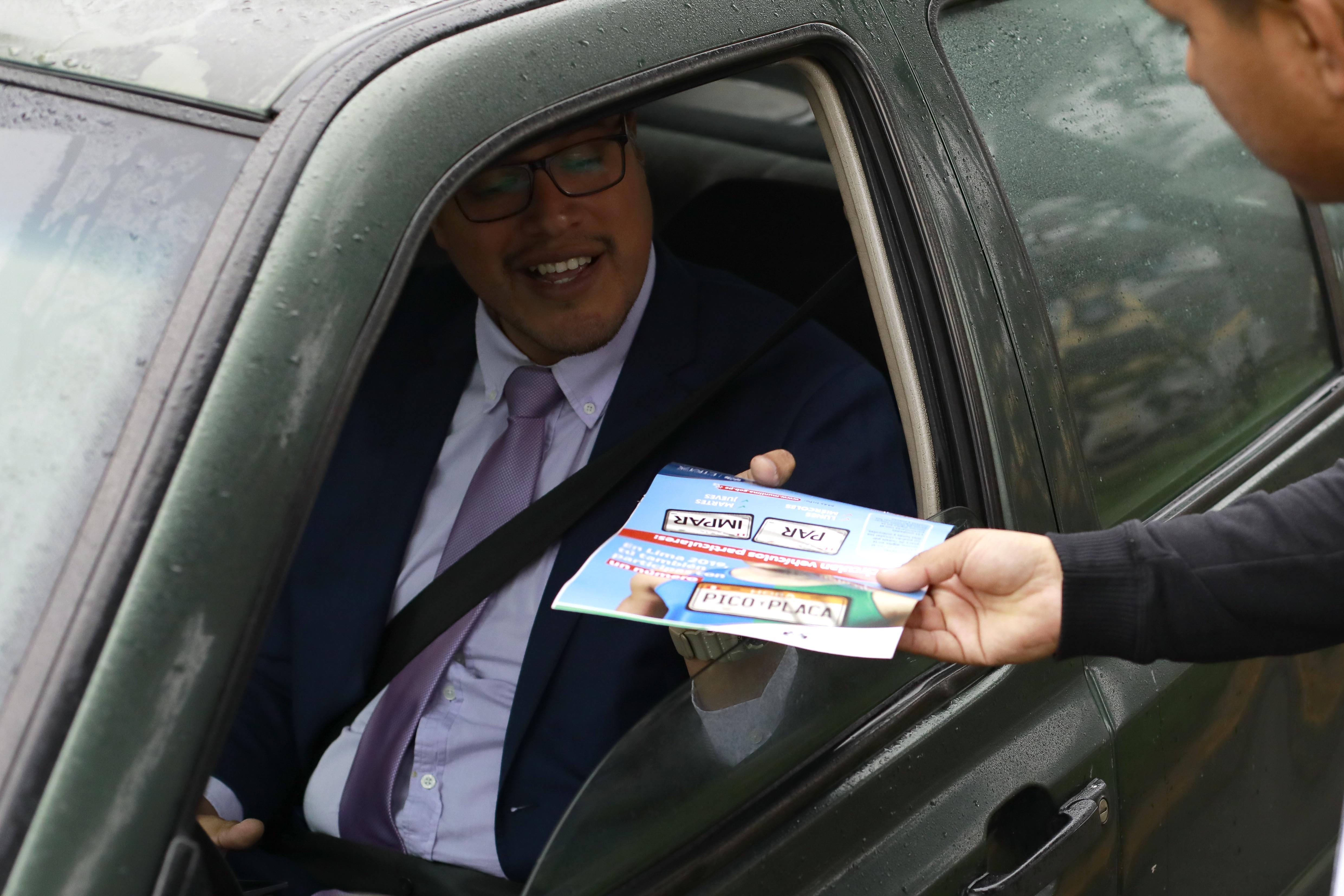 Municipalidad de Lima asegura que se redujo tiempo de viaje en tres corredores viales con 'pico y placa'