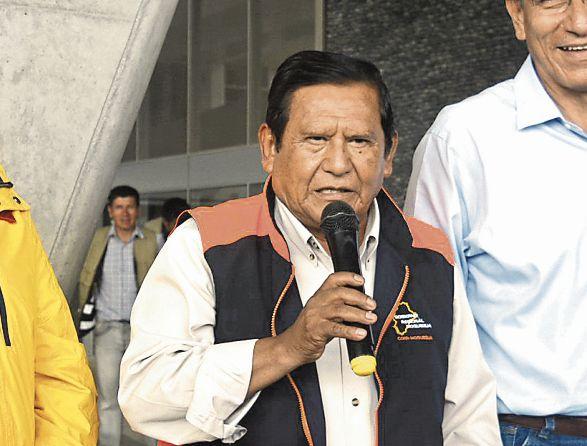 Zenón Cuevas, gobernador de Moquegua. (Foto: Difusión)