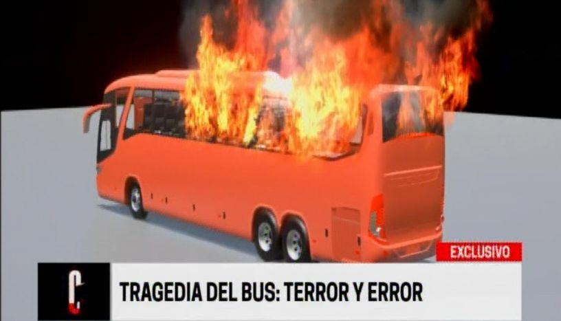 Tragedia en Fiori: bus que se incendió era adaptado y no original de fábrica