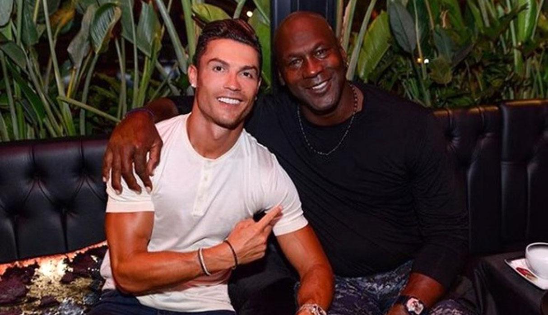 Cristiano Ronaldo y Michael Jordan: el encuentro de dos leyendas del deporte