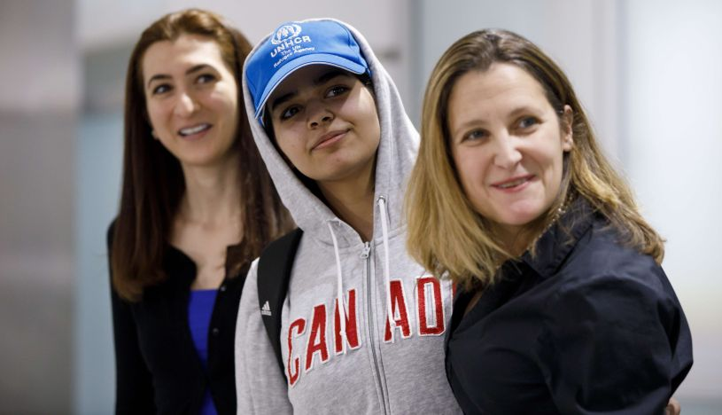El dramático testimonio de la joven saudita que huyó de su familia   FOTOS