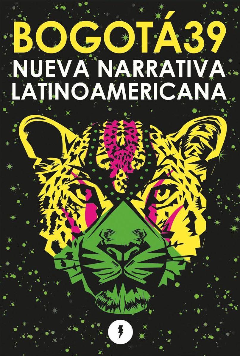 Portada de 'Bogotá 39 Nueva Narrativa Latinoamericana' (Estruendomudo).