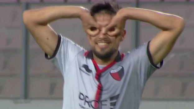 Deportivo Municipal vs. Colón: Estigarribia anotó golazo y puso el 1-0 en Copa Sudamericana | VIDEO