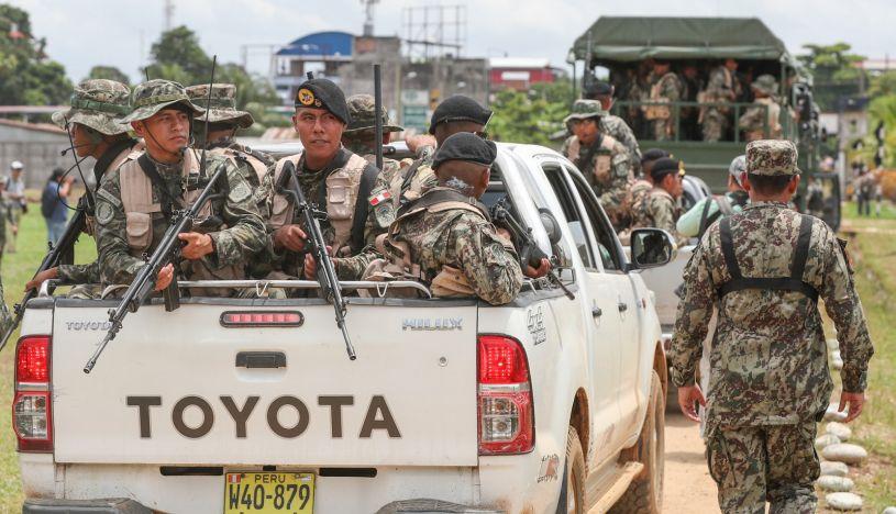 Madre de Dios: instalarán brigada militar en La Pampa para apoyar a Policía en lucha contra minería ilegal