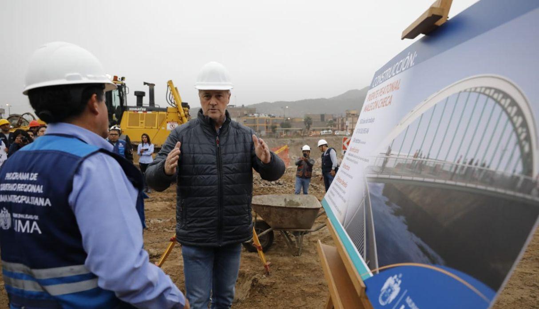 Inician las obras de puente que unirá El Agustino con San Juan de Lurigancho | FOTOS