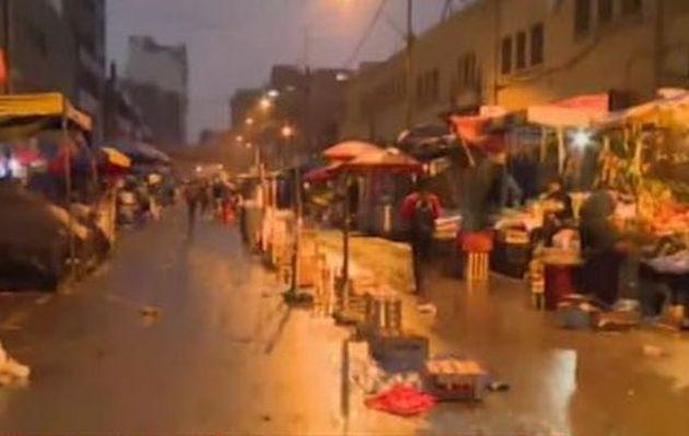 Ambulantes toman alrededores de av. Aviación tras desalojo en La Victoria | VIDEO