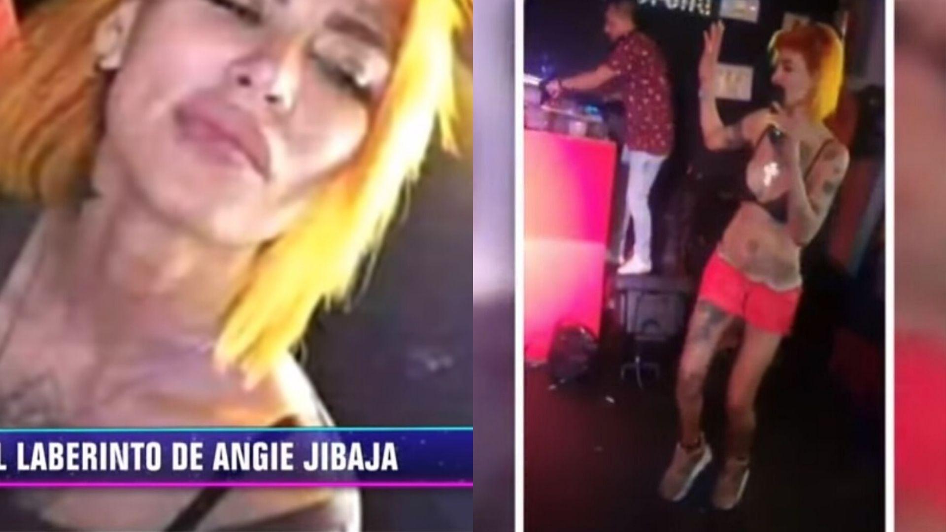 Angie Jibaja magaly medina muestra preocupantes imágenes de angie jibaja