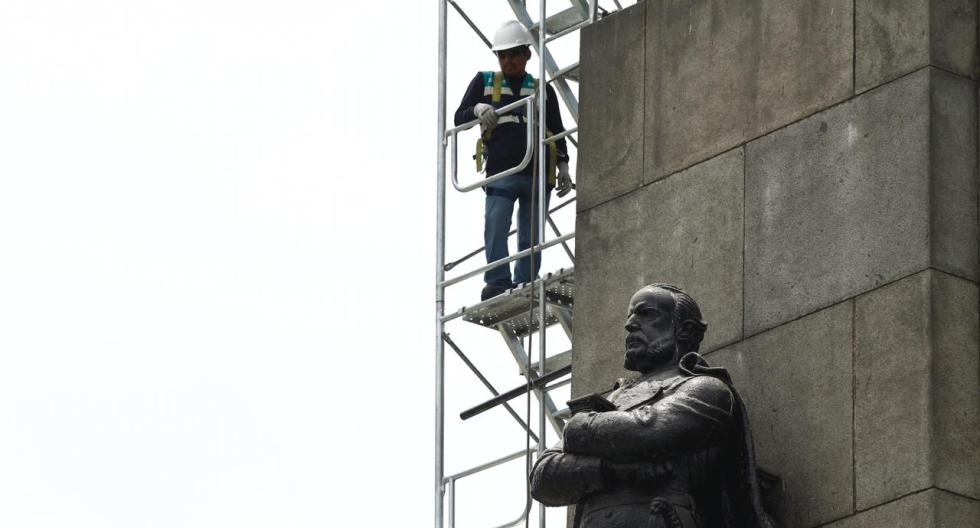 Miguel Grau: se inician los estudios para recuperar el monumento al Caballero de los Mares | FOTOS