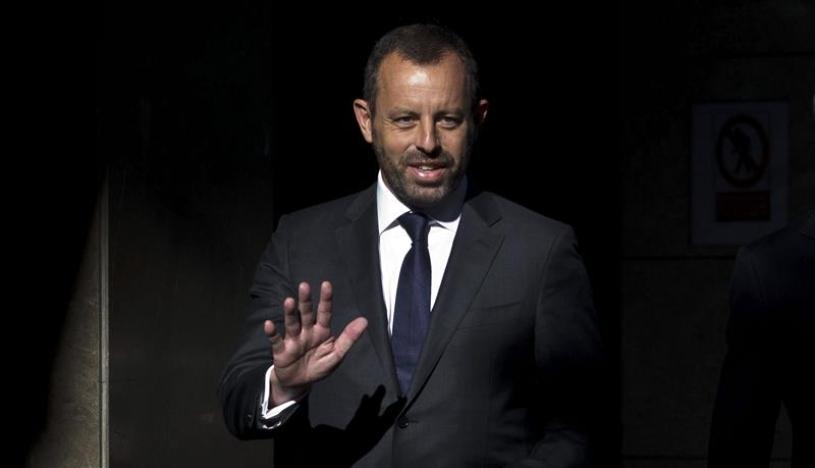 El ex presidente del Barcelona, Sandro Rosell, recibe la libertad provisional