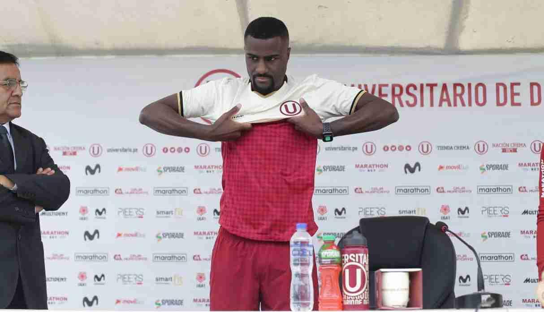 Christian Ramos se disculpó con hinchas de Universitario de Deportes en su presentación