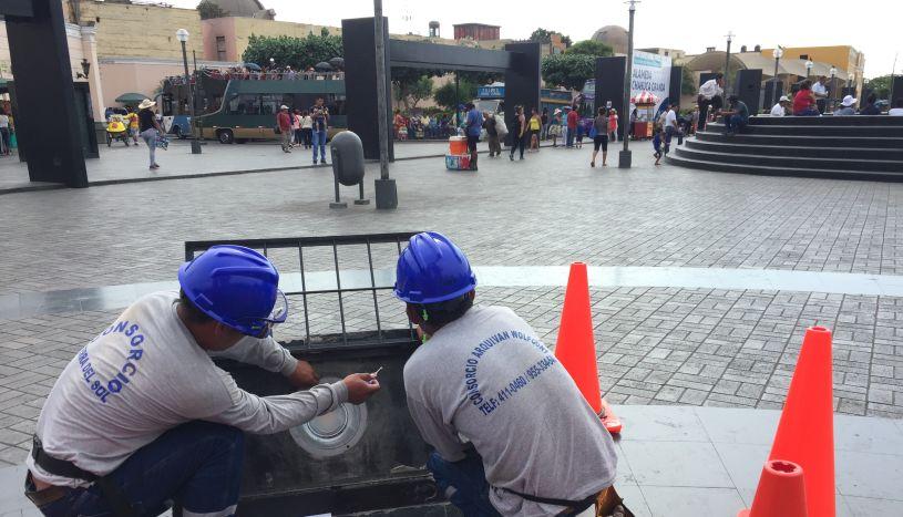 Centro de Lima: inician renovación del alumbrado en la Alameda Chabuca Granda