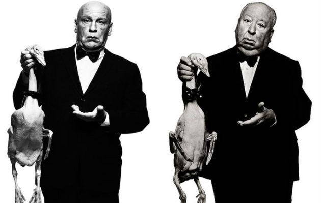 Fotógrafo usa a John Malkovich para recrear fotos icónicas