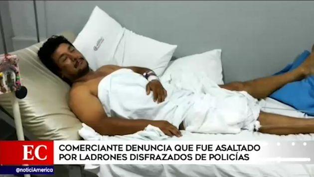 Comas: comerciante denunció que fue asaltado por delincuentes disfrazados de policías