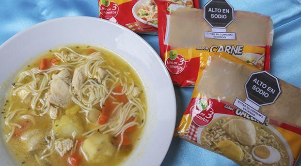Excesivo consumo de sopas instantáneas puede causar enfermedades cerebrovasculares