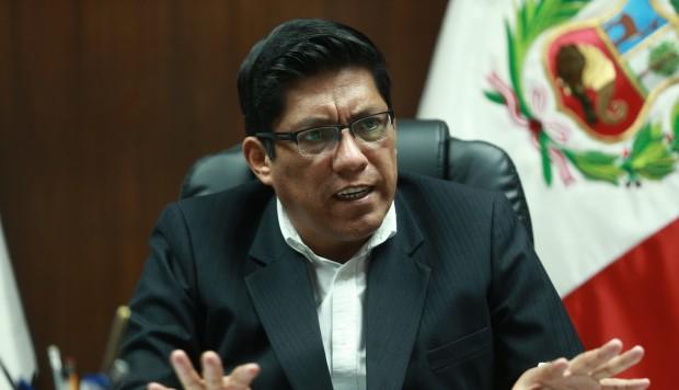 Zeballos: Ejecutivo espera información de la fiscalía para decidir sobre Chaglla