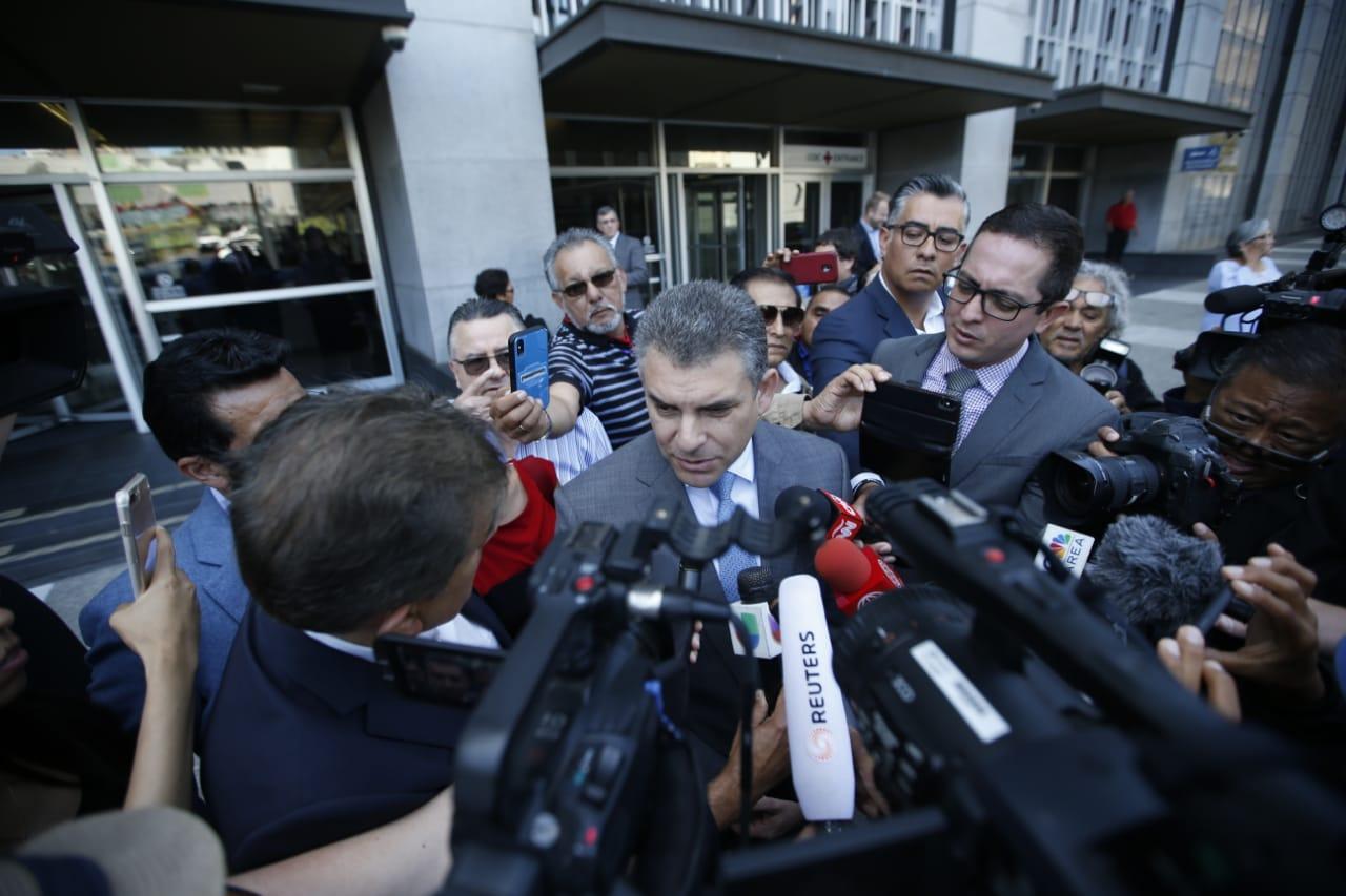 """Rafael Vela sobre Alejandro Toledo: """"Estamos satisfechos con la decisión del juez"""""""
