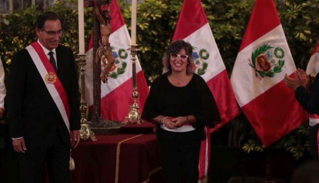 Martín Vizcarra tomará hoy juramento a nuevos ministros de Defensa y Cultura