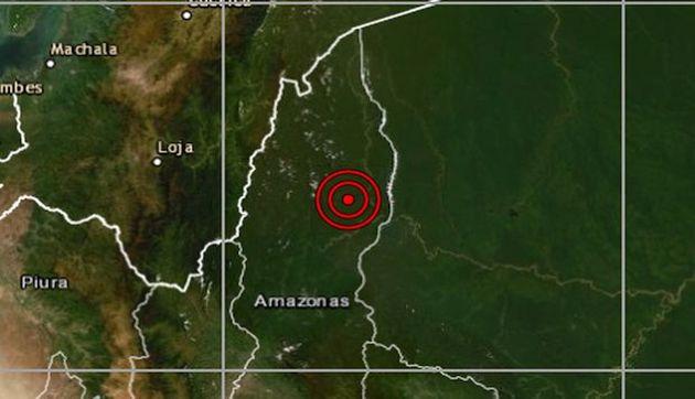Amazonas: sismo de magnitud 4 se reportó en Santa María de Nieva, señaló el IGP