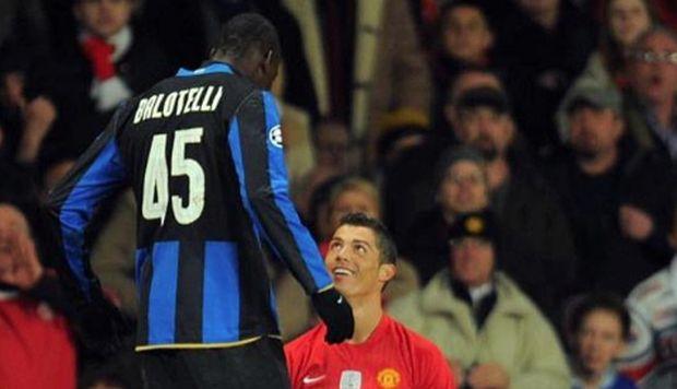 Mario Balotelli minimizó a Cristiano Ronaldo tras elogiar a Lionel Messi