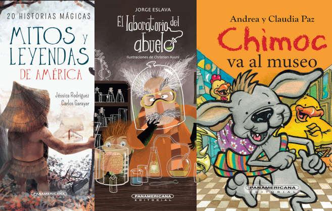 FIL Lima: algunas novedades infantiles de la feria