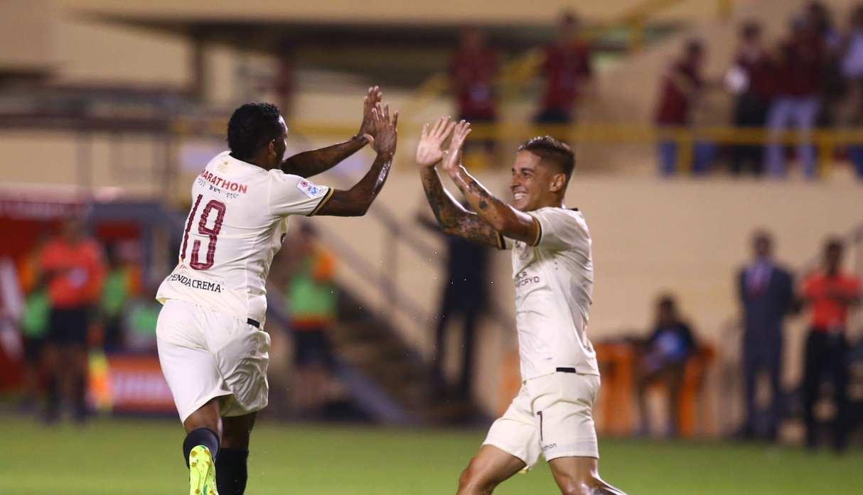 Universitario empató 1-1 con Sport Huancayo por la Liga 1
