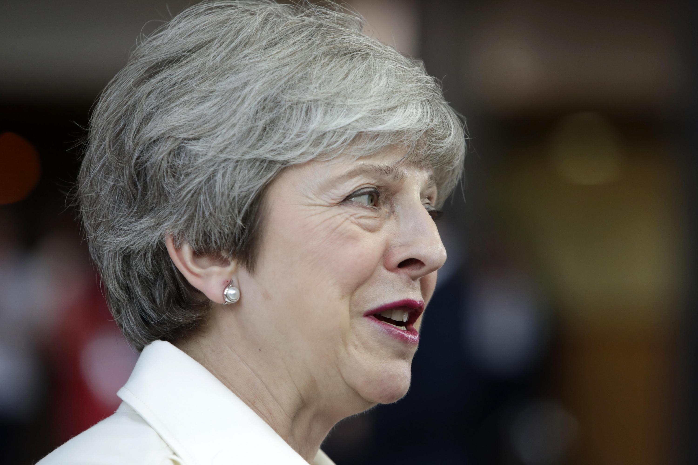 """La primera ministra británica, Theresa May, había manifestado su """"total apoyo"""" al embajador. (Foto: EFE)"""