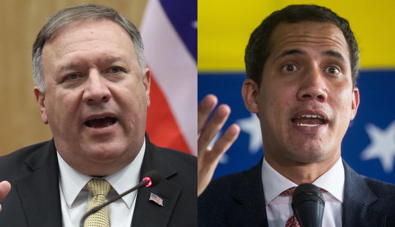 """Pompeo expresa su apoyo """"inquebrantable"""" a Guaidó por día nacional de Venezuela"""