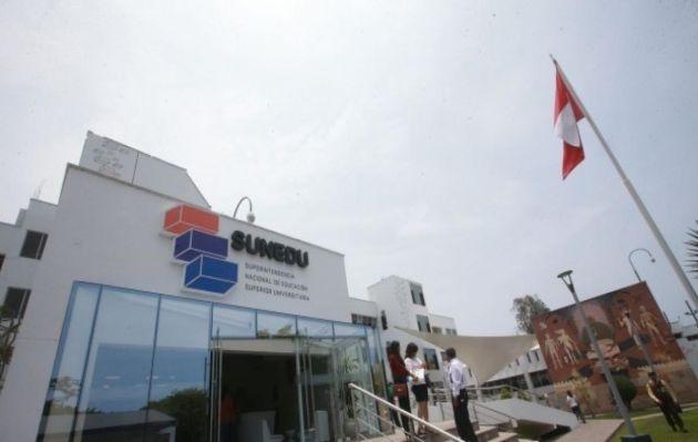 El proceso de licenciamiento de todas las universidades termina en diciembre, informa Sunedu