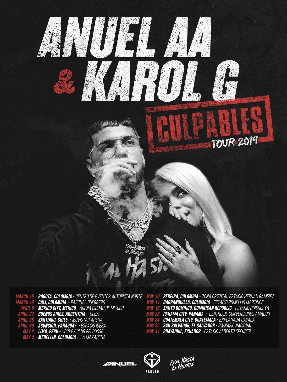 Karol G y Anuel AA realizarán un concierto en Lima, Perú (Foto: Captura de Billboard)