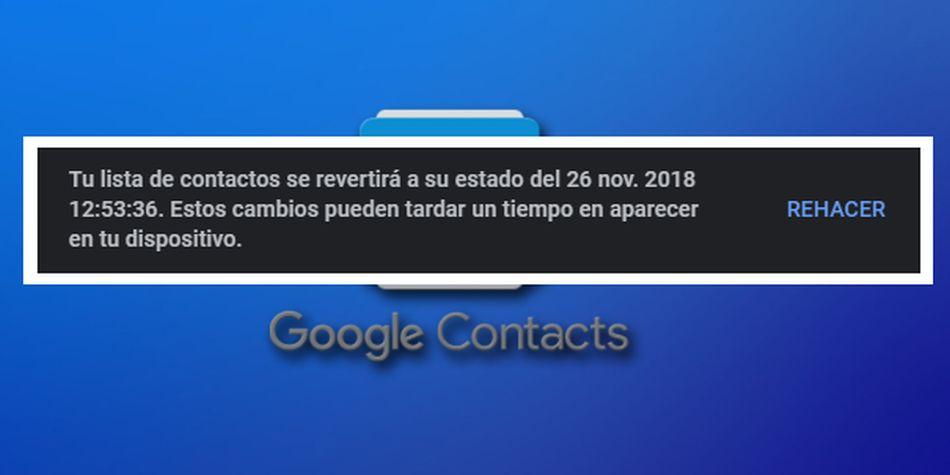(Foto: Google Contacts).