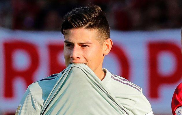 James Rodríguez fue ofrecido a la Juventus donde podría reecontrarse con Cristiano Ronaldo