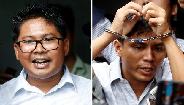 Periodistas birmanos cumplen un año de prisión por investigar matanza rohinyá