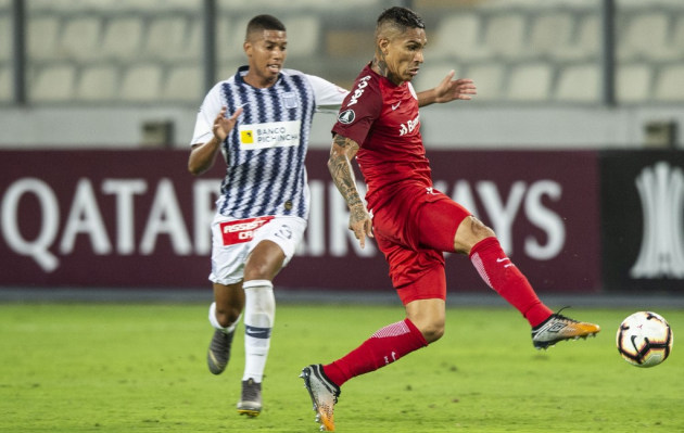 Alianza Lima perdió 1-0 antes Internacional de Paolo Guerrero por Copa Libertadores
