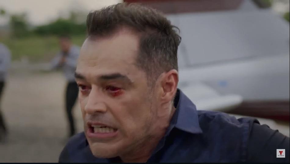 La diabla le dio el tiro de gracia a Villa (Foto: Telemundo)