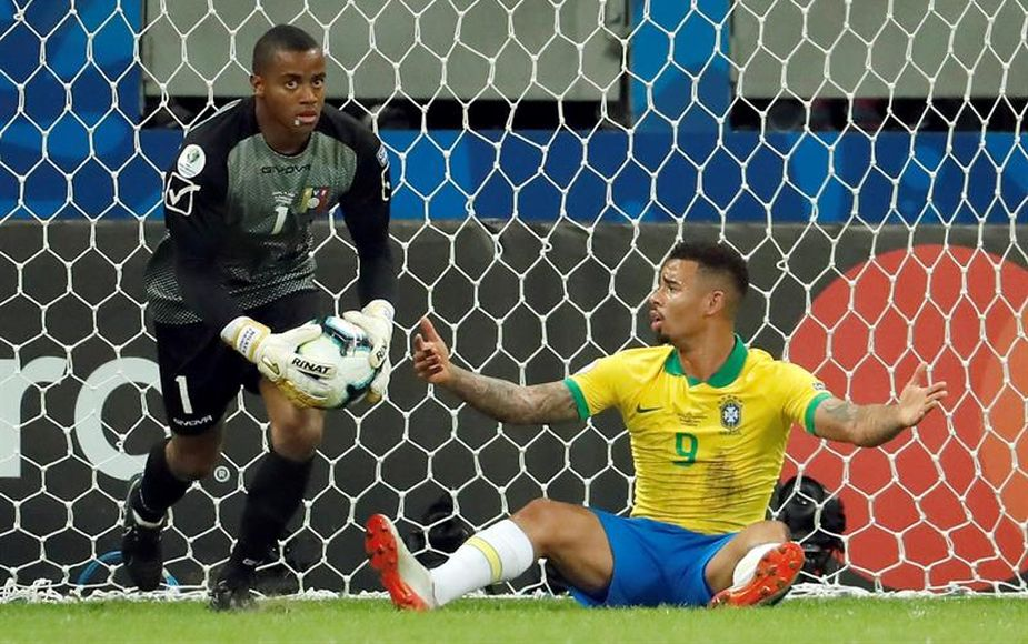 Brasil no pudo con Venezuela y empataron 0 a 0 en duelo por la Copa América 2019