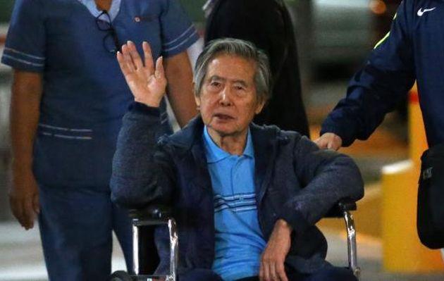 Alberto Fujimori es internado en clínica, luego de conocer anulación de su indulto