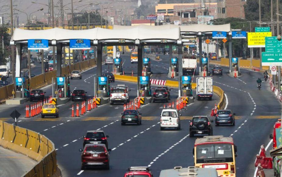 Lamsac y Rutas de Lima aceptaron mejorar contratos de peajes de Lima
