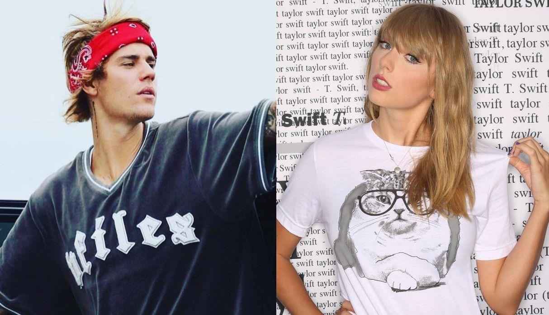 Justin Bieber se disculpó con Taylor Swift  por publicar un post en Instagram burlándose de ella