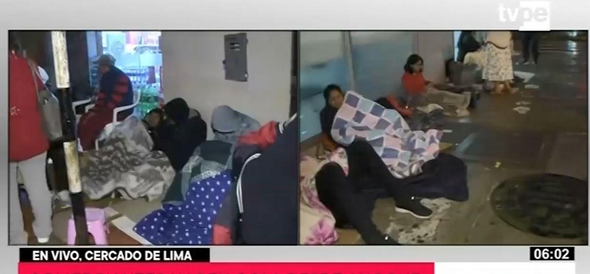Mesa Redonda: comerciantes afectados por el incendio se amanecen por certificado de defensa civil