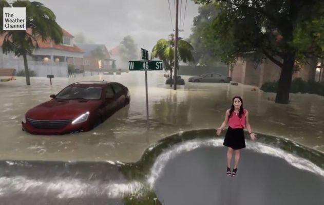 ¿Cómo se realizó la impresionante representación 3D del Huracán Florence? Aquí te lo contamos