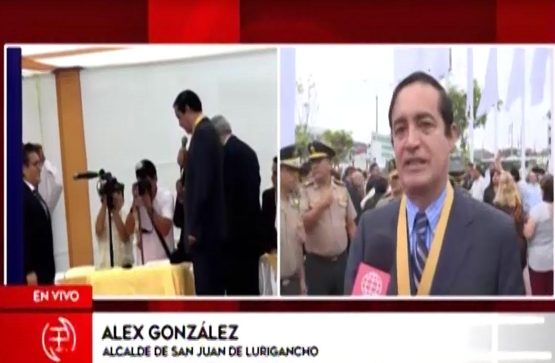 Alcalde de SJL tras lapsus en juramentación: 'Solo habrá una gestión transparente y honesta'