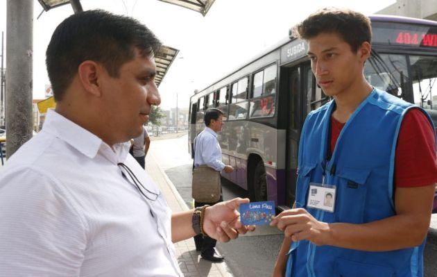 Desde hoy usuarios de Corredor Morado utilizarán tarjeta Lima Pass | VIDEO