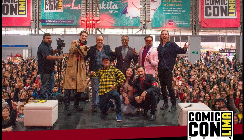 Comic Con Lima: Jason David Frank, Giancarlo Esposito y Temuera Morrison marcaron día histórico del evento