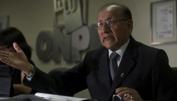 Fuerza Popular planificó sacar a Cucho como jefe de la ONPE, afirman