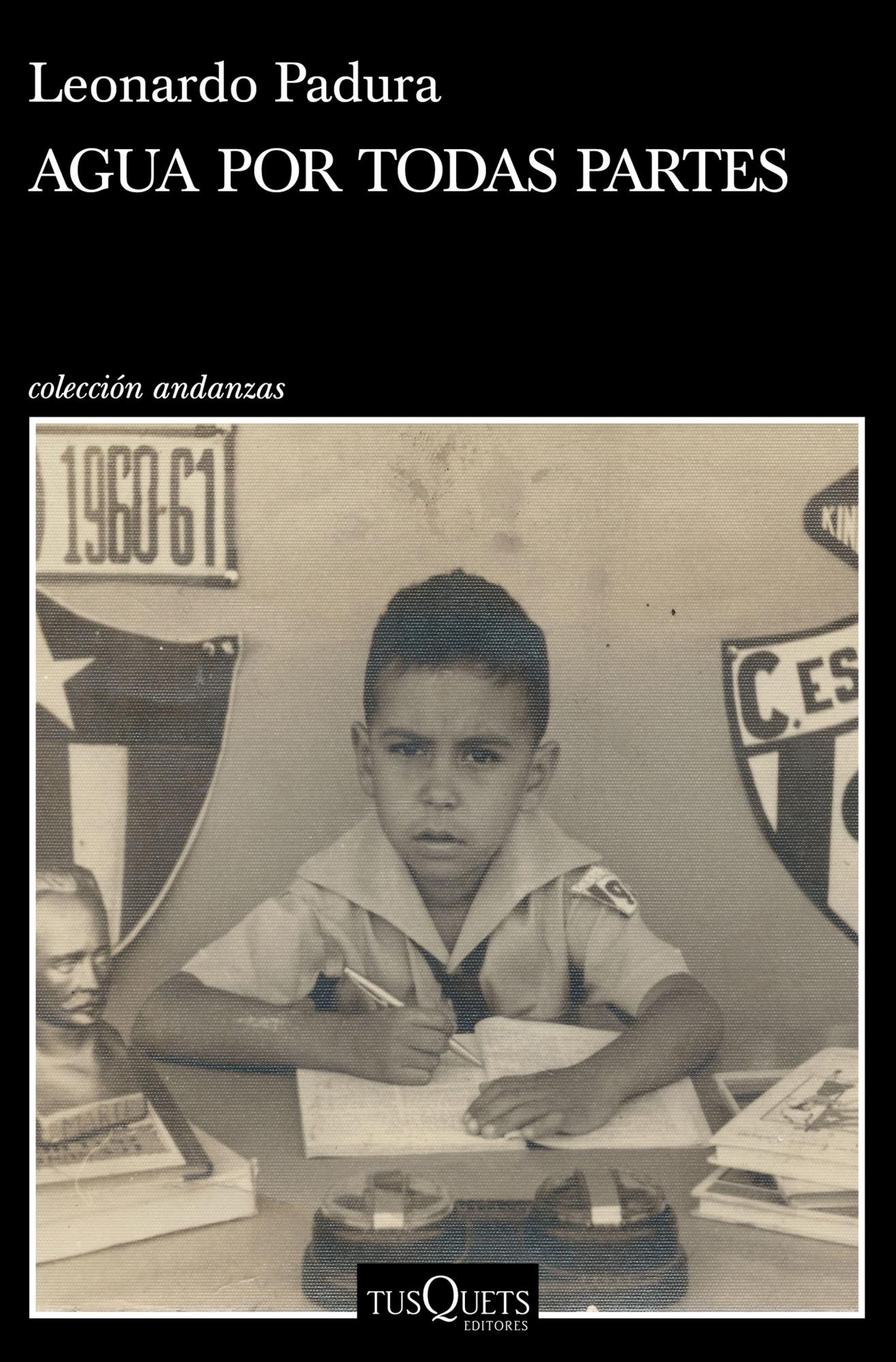 'Agua por todas partes' es la más reciente publicación del autor cubano.