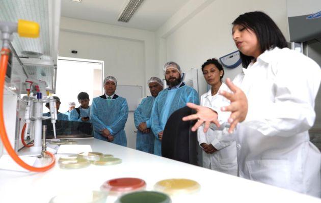 Gobierno invierte más de S/ 10 millones en laboratorio de Biotecnología