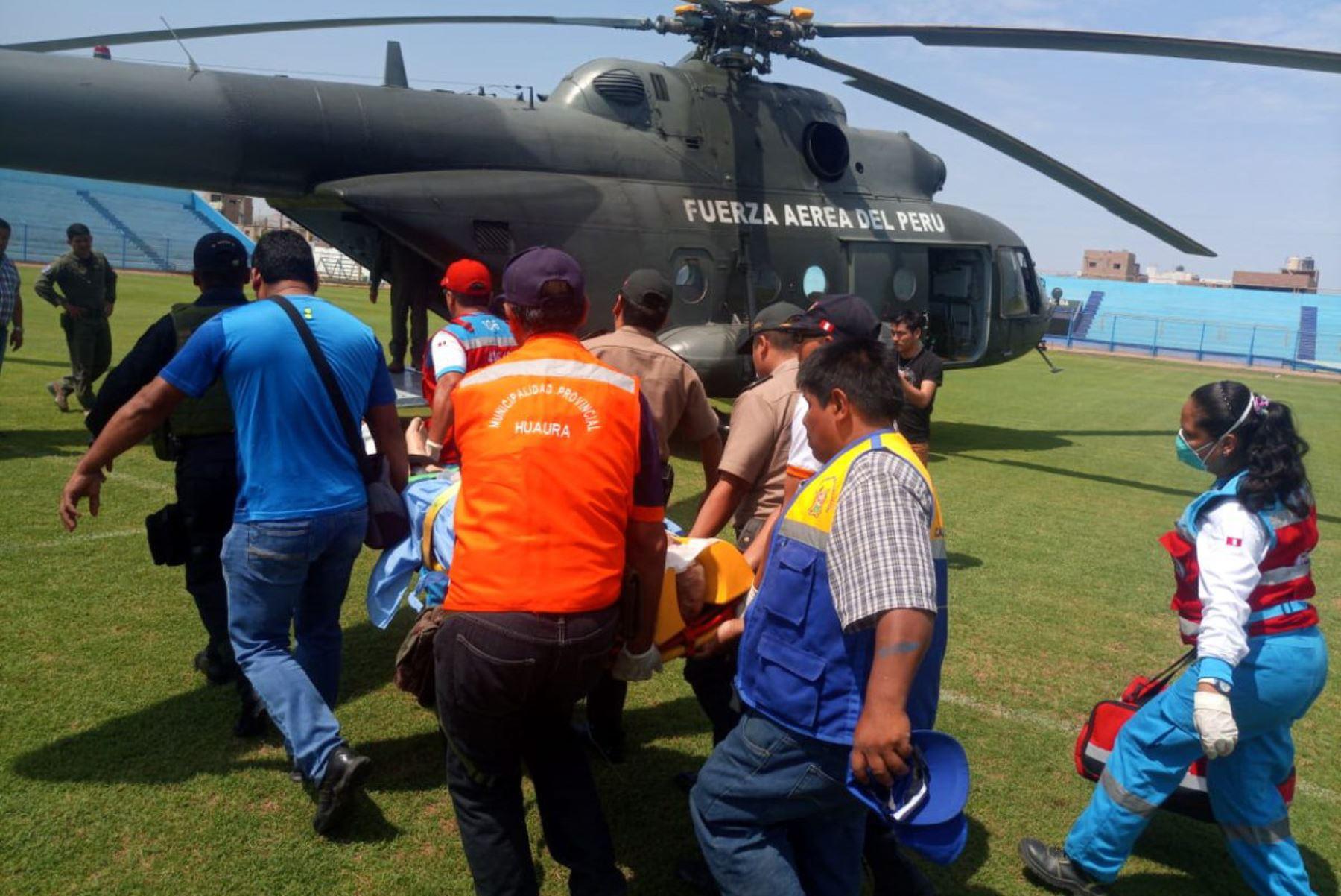 Accidente en Huaura: trasladan hacia Lima a heridos del bus que transportaba militantes apristas | FOTOS