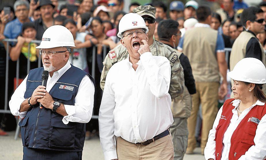 Sugerencia. Pide que le diga al país qué es lo que ha pasado. (MarioZapata/Perú21)