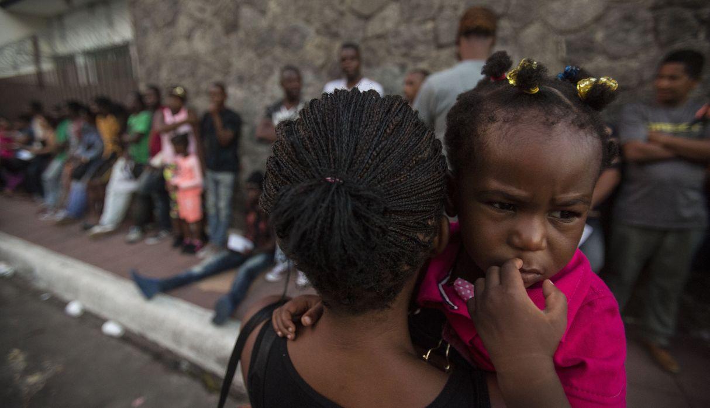 Entre ilusiones y penurias, haitianos y africanos migrantes forman un barrio en México | FOTOS