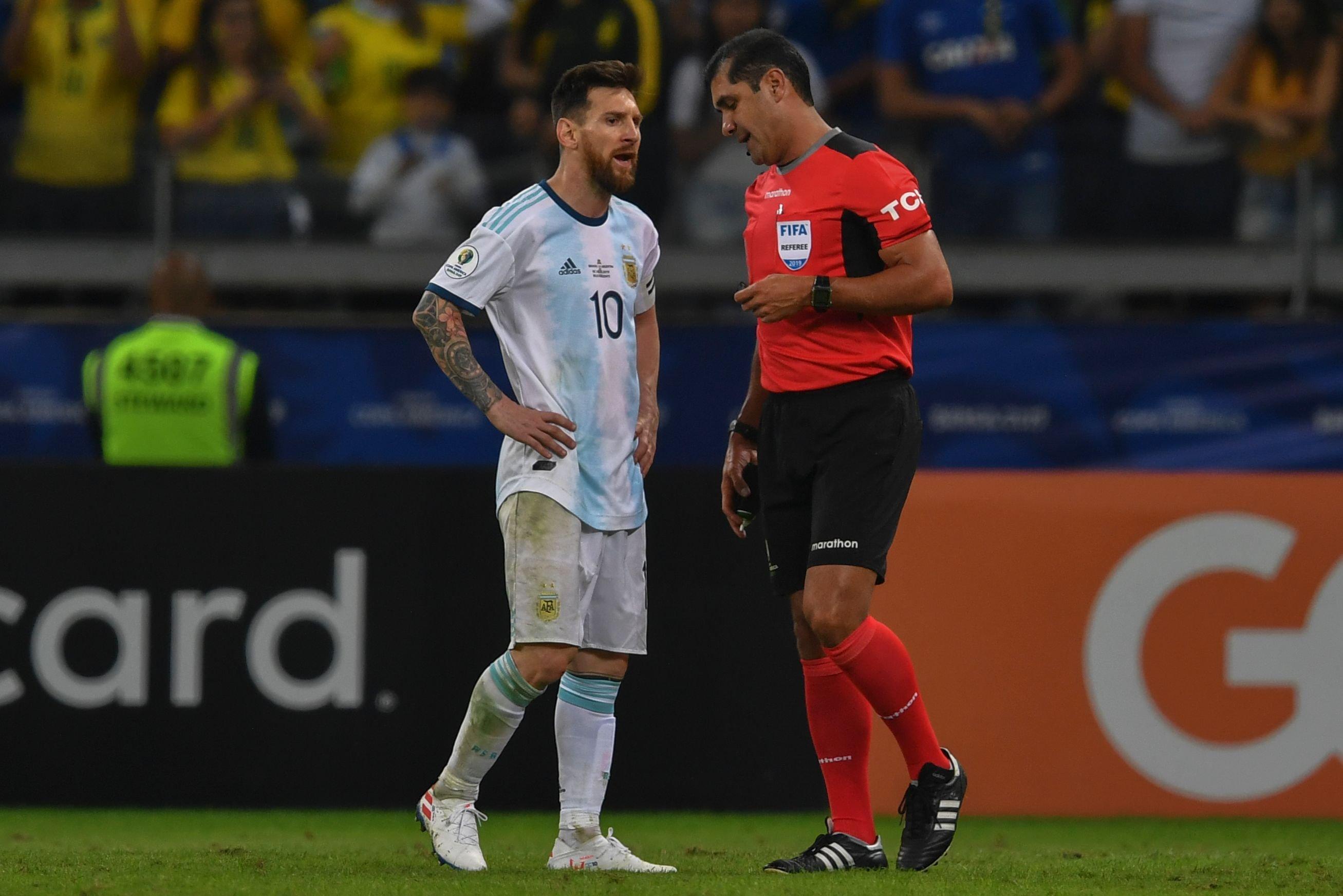 Argentina vs. Brasil: AFA reclama a Conmebol por arbitraje en semifinal de Copa América
